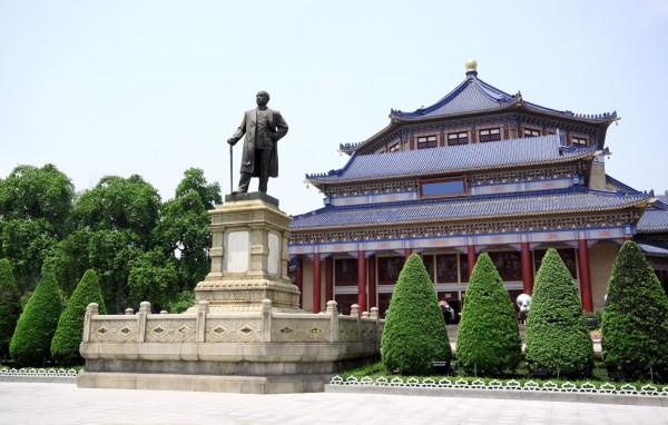 ve-may-bay-di-taipei gia re _ Đài tưởng niệm Tôn Trung Sơn