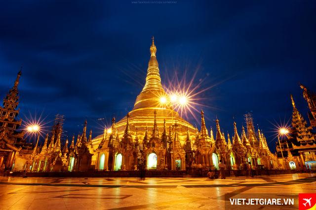 Vé máy bay VietJet Air đi Yangon