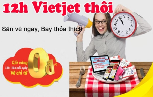 ve may bay vietjet gia re